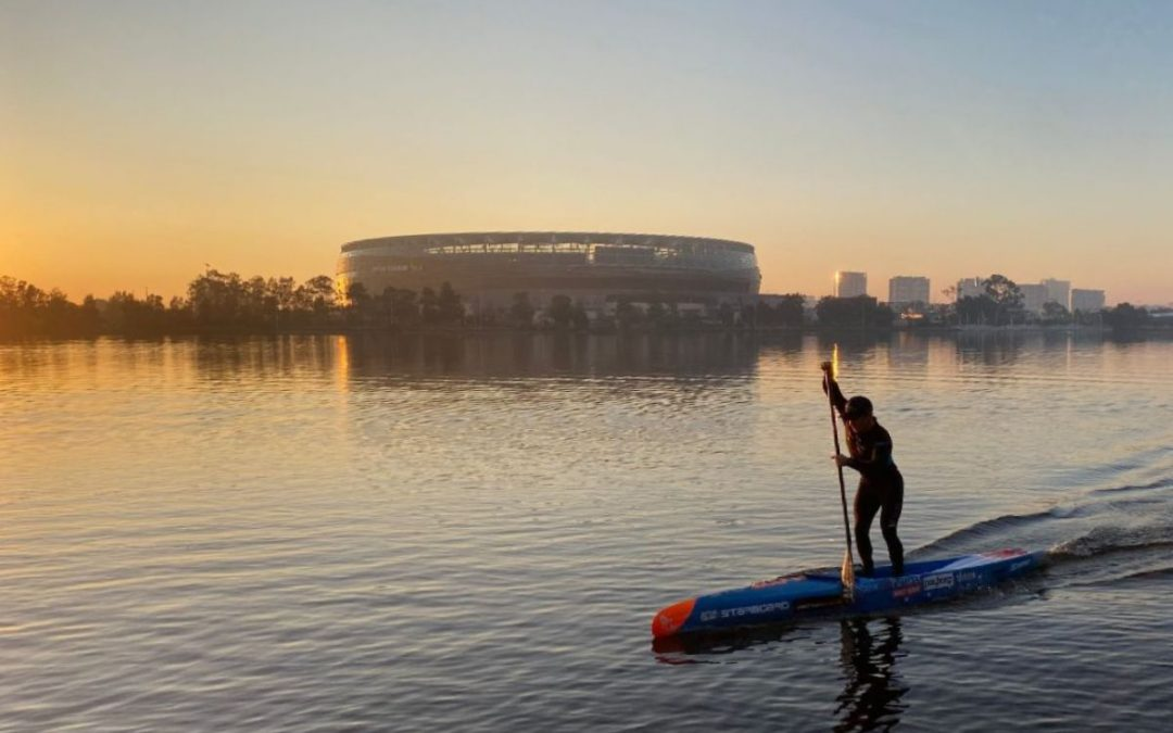 BOOTH Training's Thursday tip –  Flatwater – where to stand on your board